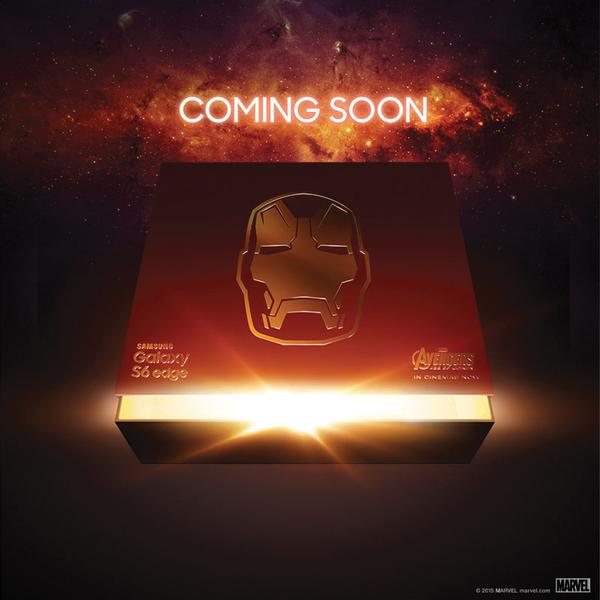 Samsung Galaxy S6 Edge - The Iron Man Edition