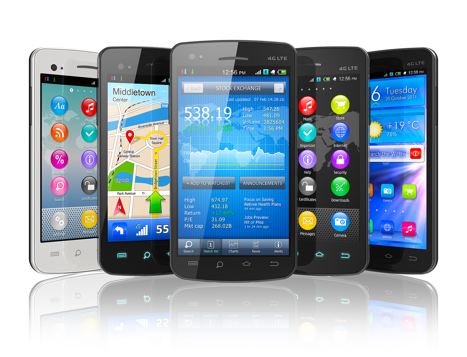 top ten smartphones in kenya quarter 3   july to september