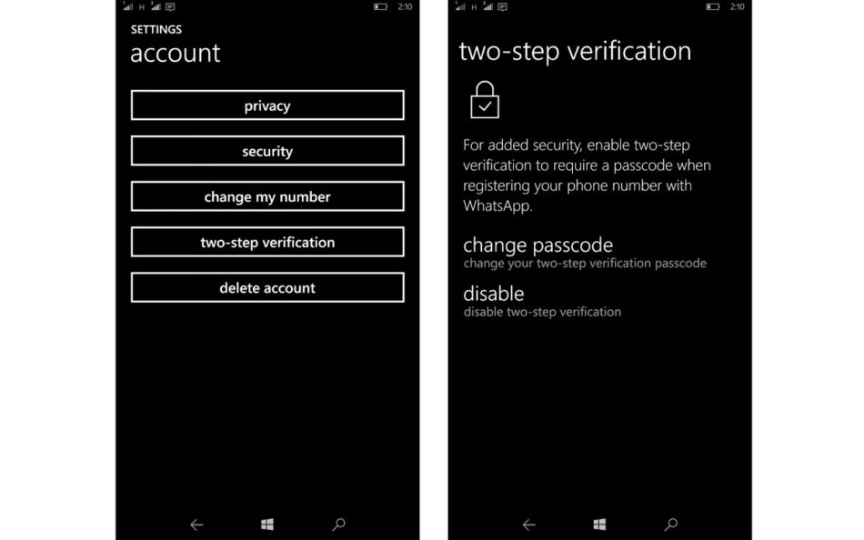 two-step verification