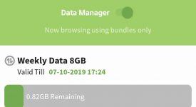 Faiba 4G data manager